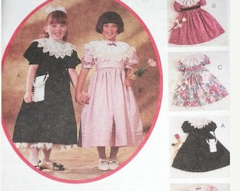 Girl's Dress Pattern - McCall's 6336