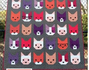 The Kitten Quilt Pattern by Elizabeth Hartman