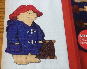 EXCLUSIVE - Trio of Paddington Bear Pictures - Cross Stitch Pattern Only