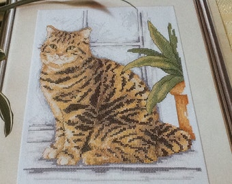 A - CAT - FELINE - Cross Stitch Pattern Only