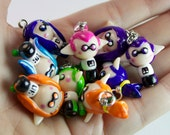 Splatoon inspired Inkling kids boy or girl Color of your choice