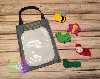 Bug Jar and Bugs--Goodie Bag--Party Favors