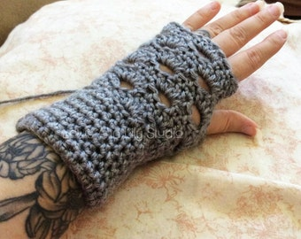 Crochet Fingerless Gloves, Hand Warmers, Arm Warmers, Wrist Warmers, Mitts, Texting Gloves, Typing Gloves, Business Casual, Warm Cold Hands