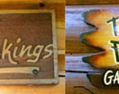 Norris Nest - Custom Sandblasted Sign