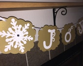 JOY banner-photo decorations-table banner-christmas photo prop-christmas banner