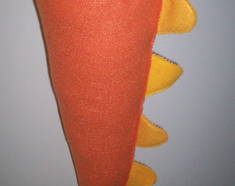 Orange and Marigold Coloered Kid's Dino/Dragon Tail