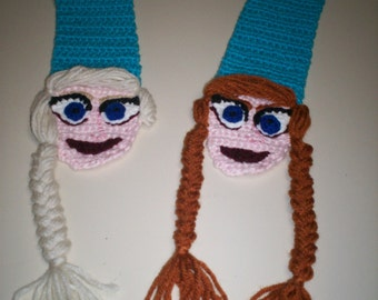 Anna and Elsa Frozen Scarf
