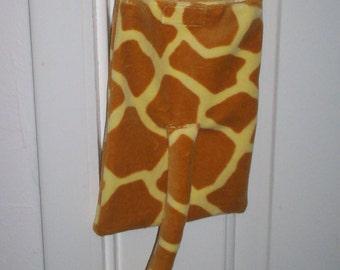 OOAK Little Girl's Plush Giraffe Purse