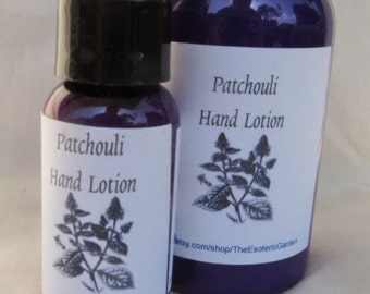 Patchouli Hand and Body Lotion