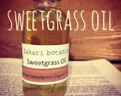 Organic Sweetgrass Oil