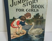 Vintage Jumbo Story Book for Girls M.A. Donahue and Company Chicago