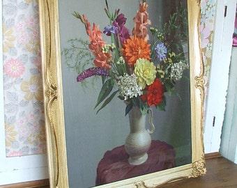 Lovely Vintage Floral Picture