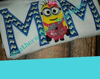 Minion mom shirt