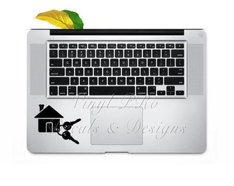 Real Estate Agent Realtor Broker Realty Decal for Macbook