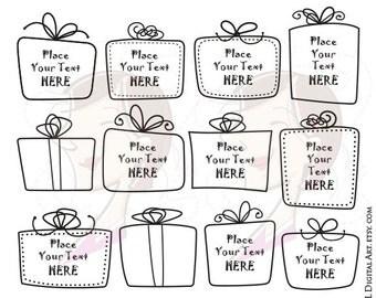 Gift Box Clipart Teacher Svg