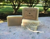 Rosemary Mint Shampoo Bar with Neem & Shea Butter, Handmade Cold Process Soap, Vegan