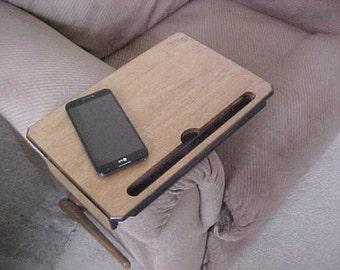 Adjustable Armrest Table - iPad Stand -