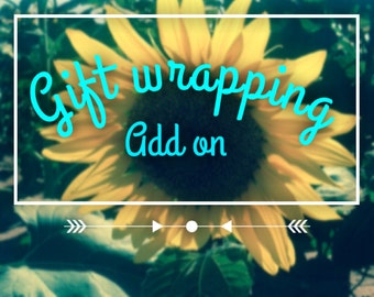 Gift Wrapping-Add on-Present-Gift