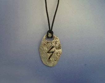 rune viking Sowelu Sigel Sowilo Sugil Sol sterling silver 925 pendant escandinavian charm necklace amulet