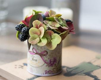 Real touch flower arrangement - fake flower - floral arrangements - faux flower