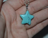 Tiny Turquoise Star Necklace