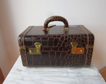 Vintage Leather Case/Luggage