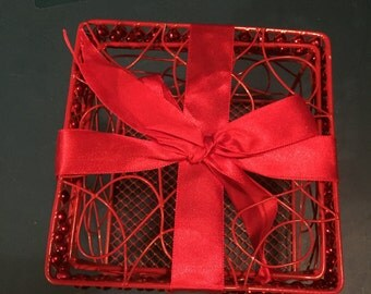 Red Wire Basket