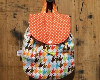 Backpack // Boy Backpack // Houndstooth Back Pack // Toddler Back Pack