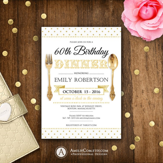 birthday dinner invite printable birthday dinner invitations, Birthday invitations
