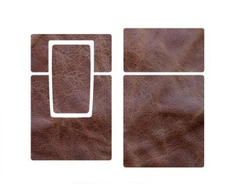 Replacement Skin for SX-70 Camera - Rough Brown Leather (free basic shipping)