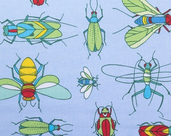 ℳ Bugs for Blend 100% Cotton 45 inch FC12260 Fabric by the Yard, 1 Yard
