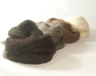 Natural Coloured Finnish Roving Sample Pack