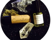 Essential Oil Perfume // Palo Santo // Cosmos // Constellation // Night Sky // Herbal Scent // Astrologic Ethereal Scent