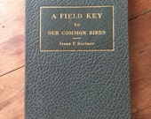 1940 First Edition A Field Key to Our Common Birds by Irene Rorimer Cleveland Museum of Natural History Cleveland Ohio