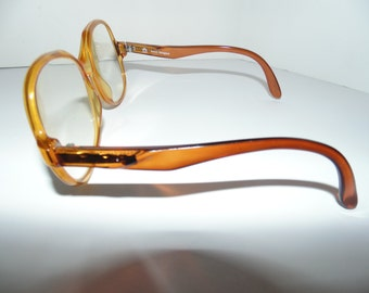 Vintage Terri brogan womens oversized eyeglasses glasses Plastic 70s Hipster Canada