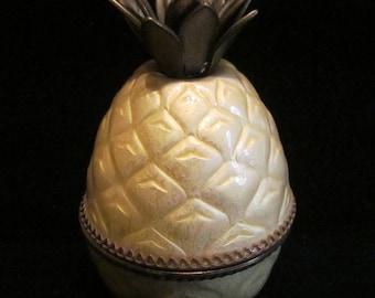1950s Evans Guilloche Pineapple Lighter Table Lighter Desktop Lighter Gorgeous Working Lighter Near Mint Condition