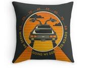 Retro, Pop, Throw Pillow for your Home Décor (black version)