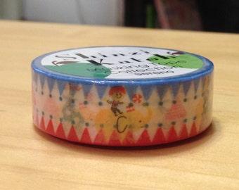 Shinzi Katoh Deco Masking Tape Pop Circus  - Japanese Masking Tape