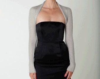 Knit Bolero Jacket Mohair Silk Colour for the evening dress