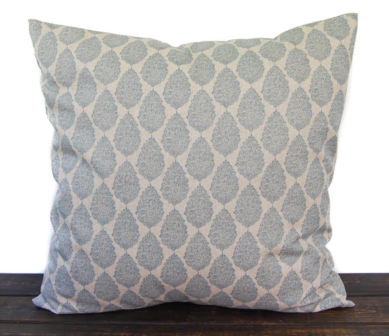 Indigo Blue Throw Pillow : Navy Indigo Blue pillow cover throw pillow one navy and