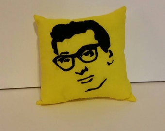 Buddy Holly Pillow