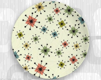 No. 2 Atomic Era melamine plate