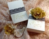 Wedding Calligraphy ~ Place Cards ~ Custom Cut ~ Tented ~ Reserved Listing for Patricia R.