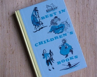 Vintage Book - Best in Children's Books, Book 13 1958, First Edition, Old Mother Goose Rhymes, The Sleeping Beauty, Nelson Doubleday Inc.