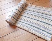 Rustic Bobble Blanket - Instant Download PDF Crochet Pattern