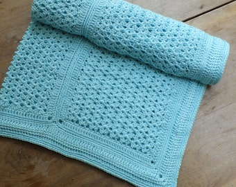 Charlie's Chevron Blanket - Instant Download PDF Crochet Pattern