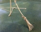 Sterling silver witch broom