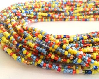 Colourful African Handmade Waist Bead