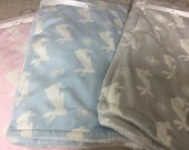 SALE !!!  Soft and Sweet baby Blankets monogrammed FREE!!