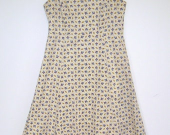 Cotton Print Sundress, Floral Print, Liberty Print or other UK made fine cotton